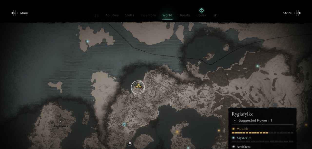 Ingot 8 Map