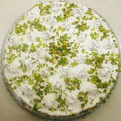 fıstıklı pasta tarifi yapılışı