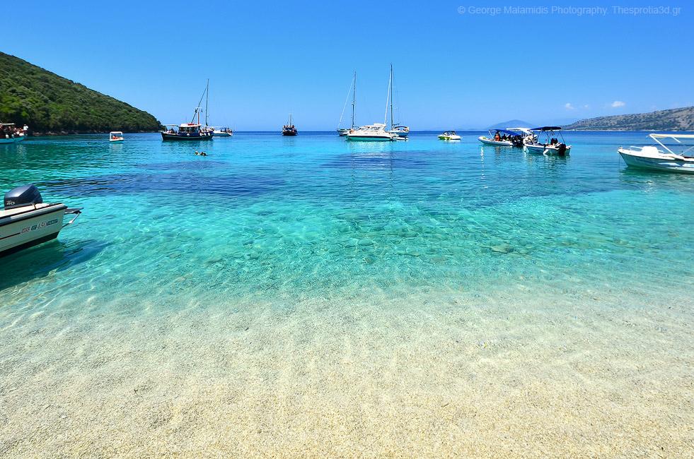Αποτέλεσμα εικόνας για παραλία Ζάβια σύβοτα