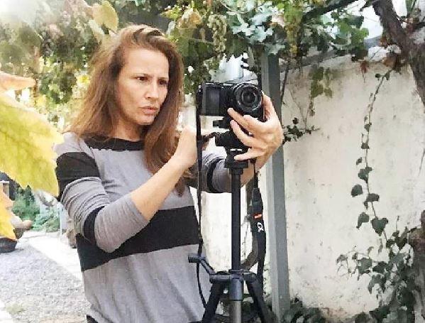 Sigrid Alegría, camarógrafa de su pololo youtuber