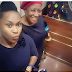 Uche Jumbo takes selfie with Patience Ozokwor