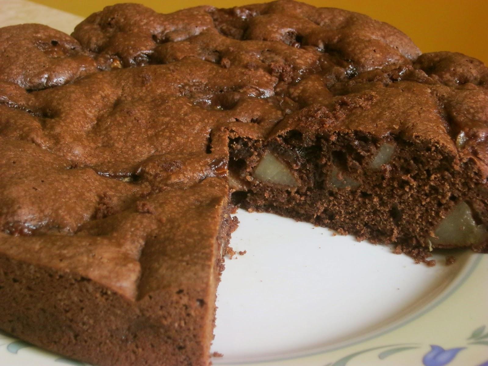 Torta Di Pere E Cioccolato Di Guido