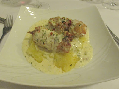 Guyane, Kourou, restaurant, l'ancre bleue, poisson, buffet