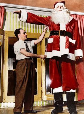 Jacob Nacken, el Papá Noel más alto del mundo