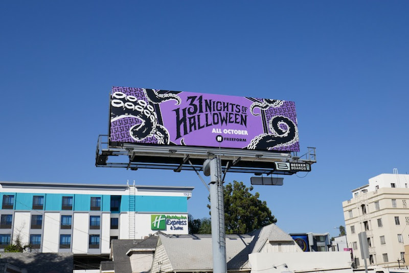 31 Nights of Halloween 2020 billboard