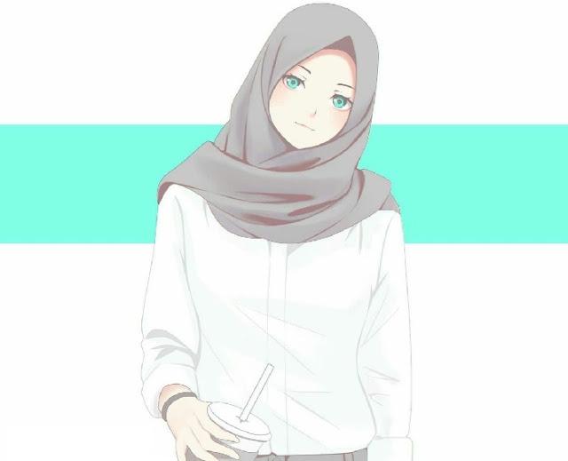 Gambar Islami kartun muslimah