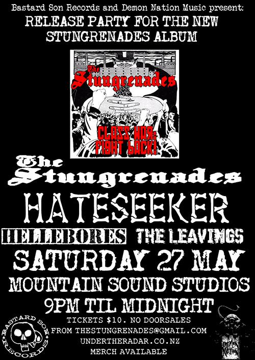 The Stungrenades Release Show