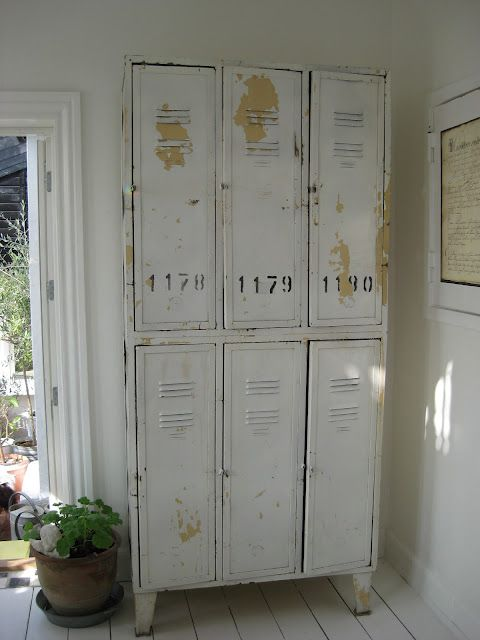 Eye For Design Decorating With Vintage Lockers