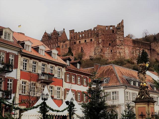 Heidelberger Schloss Weihnachtsmarkt Heidelberg