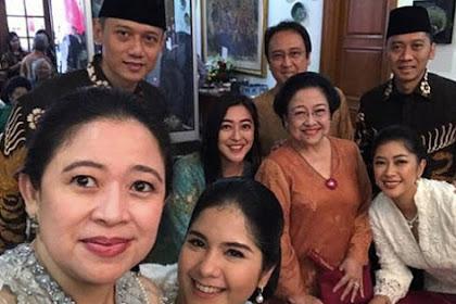 Bertemu Megawati, AHY Sama Saja Akui Kemenangan Jokowi-Maruf