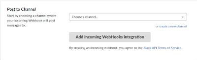 node slack webclient