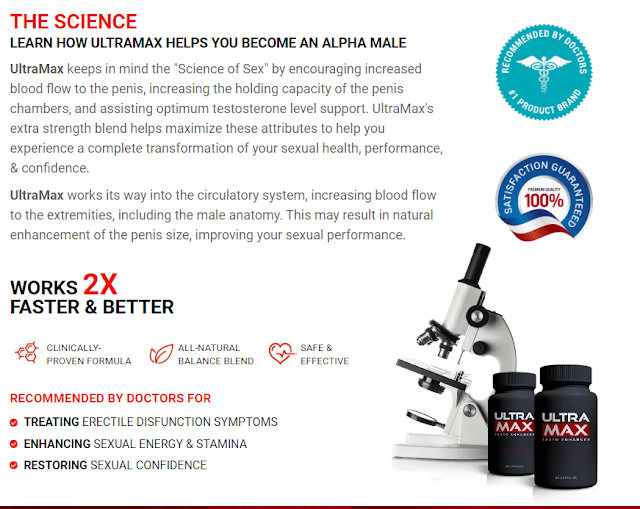 Some Positive Effective Of Using Ultramax Male Enhancement :