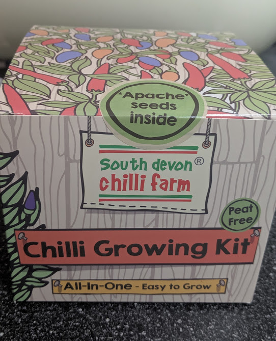 North East Father's Day Gift Ideas (Delivered)  - chilli growing kit