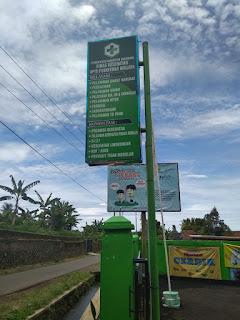 Pembangunan area parkir Puskesmas Girijaya di Soal kan LSM BBMC