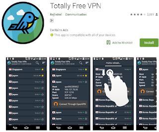 Ulasan Lengkap Totally VPN Android Free dan Paid