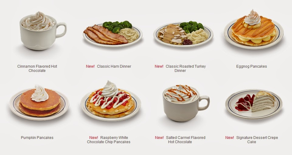 News Ihop 2013 Holiday Menu Brand Eating