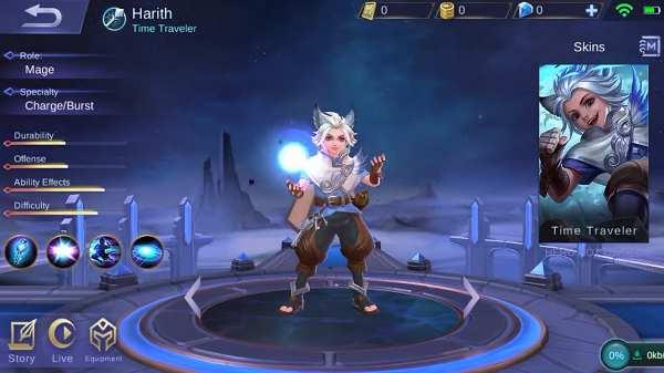 Guide Hero Harith Mobile Legend, Build, Skill, Ability, Set Emblem Yang Cocok, Hingga Tips Menggunakannya
