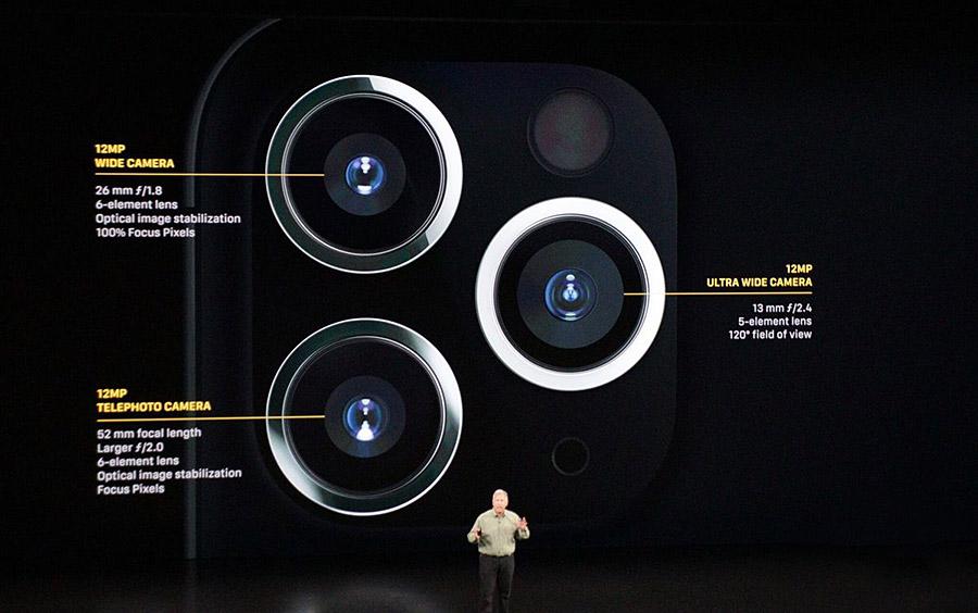 iphone 11 pro camera-sony-CMOS