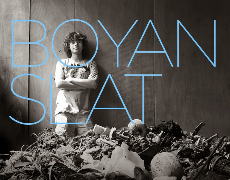 Teenager designs platform to clean seas- Boyan Slat