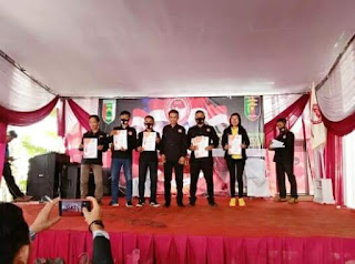 Konsisten Loyal dan Profesional, Media Online Lintastotabuan.com Terima penghargaan dari Setwil FPII Lampung