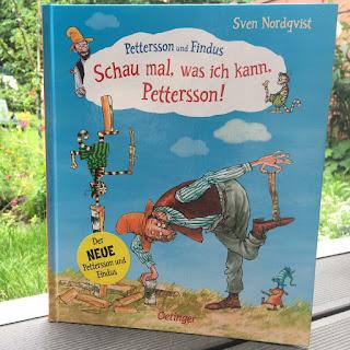 """""""Schau mal, was ich kann, Pettersson!"""" von Sven Nordqvist, erschienen im Oetinger Verlag, Rezension zum neuen Bilderbuch von Petterson und Findus"""