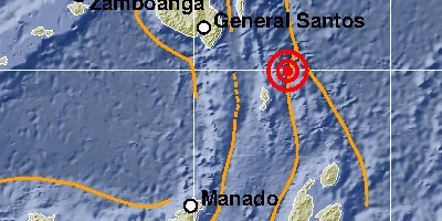 Gempa 7,0 Magnitudo Goncang Talaud, Kerusakan Infrastruktur di Dua Kecamatan