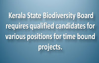 Kerala State Biodiversity Jobs for Different Positions