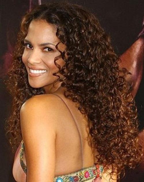 Naturally Curly Black Hair