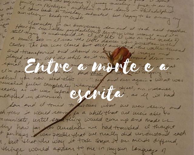Poema sobre morte e escrita