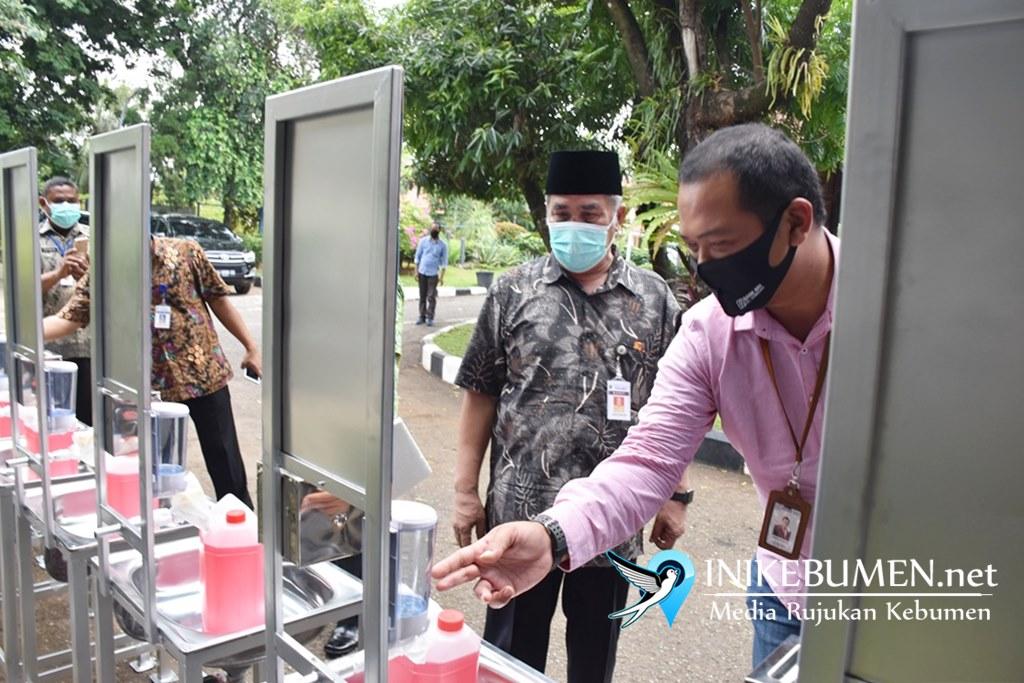 BRI Gombong Bantu Rp 32 Juta untuk Penanganan Covid-19 di Kebumen