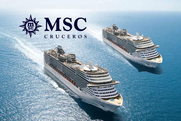 MSC cruceros presenta la mas amplia opción de cruceros en su historia