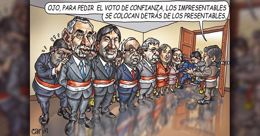 Carlincaturas Domingo 22 Agosto 2021 - La República