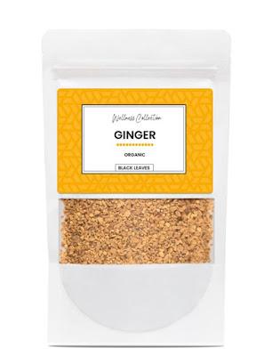 Black Leaves ginger tea