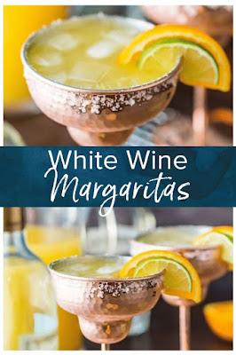 WHITE WINE MARGARITAS COCKTAIL