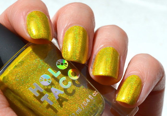 Holo Taco Lemon Sucker Swatch