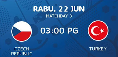 Czech Republic Vs Turkey EURO 2016