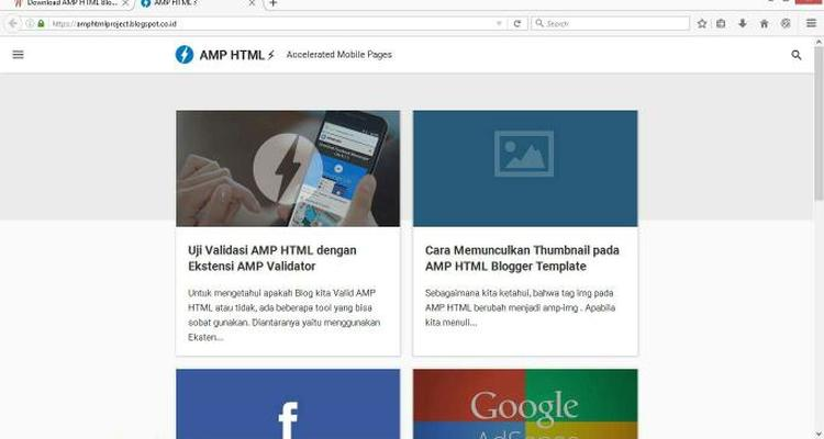 download amp html blogger template gratis dari kang ismet