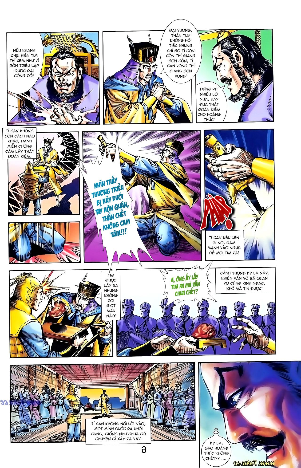 Cơ Phát Khai Chu Bản chapter 135 trang 23