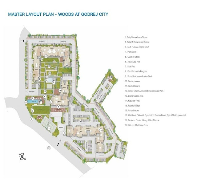 Godrej City Panvel Master Plan