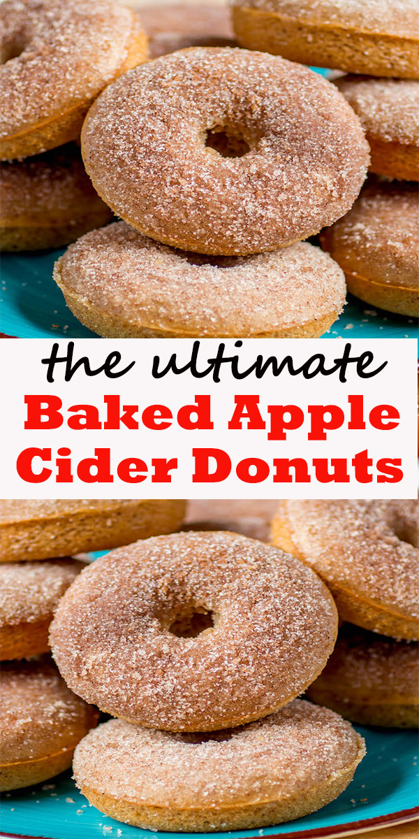 Baked Apple Cider Donuts#Baked #Apple #Cider #Donuts #dessert #cookies #recipe #BakedAppleCiderDonuts