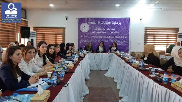 نساء سريانيات في قيادة الادارة الذاتية الديمقراطية والمجتمع