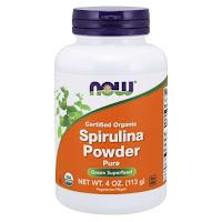 Spirulina Powder Orgânica 113g -  Now