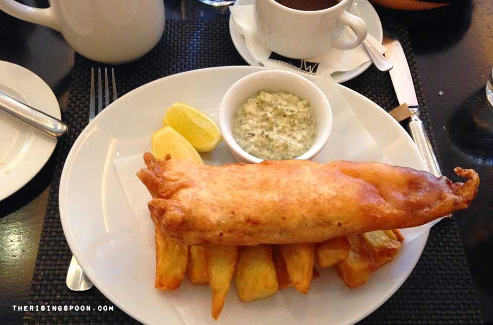 Fish and Chips in London, England | therisingspoon.com
