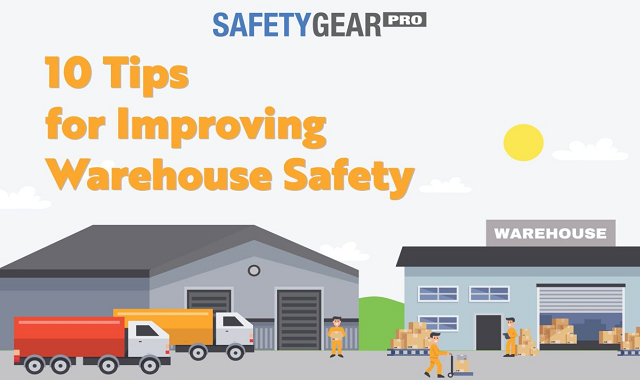 An infographic guide to improving your warehouse safety