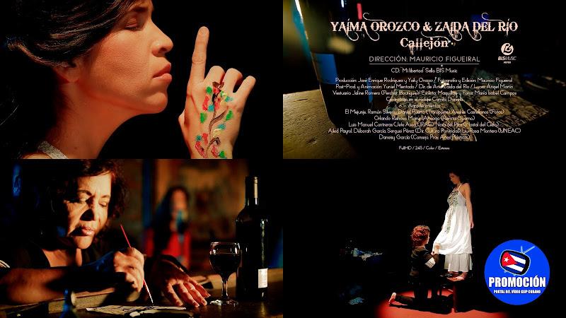 Yaíma Orozco y Zaida del Río - ¨Callejón¨ - Videoclip - Director: Mauricio Figueiral. Portal Del Vídeo Clip Cubano. Música cubana. Canción. Cuba.