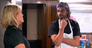 Captain Sandy and Kiko the Chef