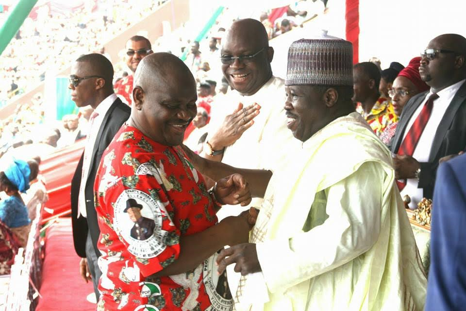 Image result for wike, fayose, sheriff