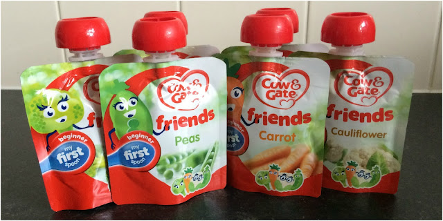 Cow and Gate veggie pouches #Review