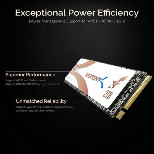 Review Sabrent 2TB Rocket Q4 NVMe Internal SSD