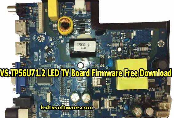 VS.TP56U71.2 LED TV Board Firmware Free Download
